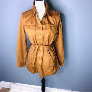 Rare L.L Beam Utility Jacket Women Size 12